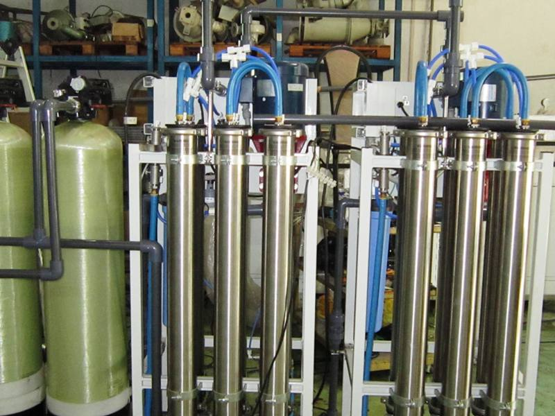 RO water treatment system.