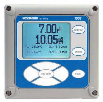 Transmitter – Màn hình đo độ điện dẫn Rosemount Emerson 1056-02-21-38-AN