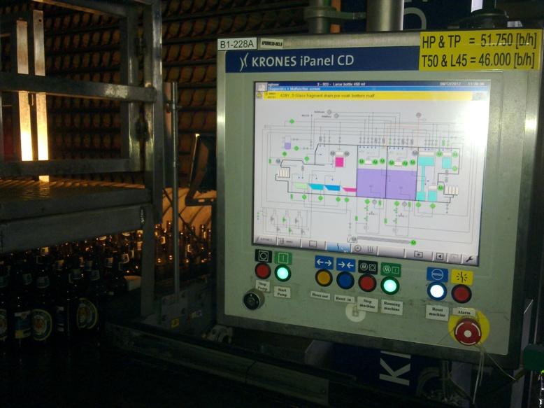 Dịch vụ tự động hóa tại nhà máy bia Châu Á Thái Bình Dương