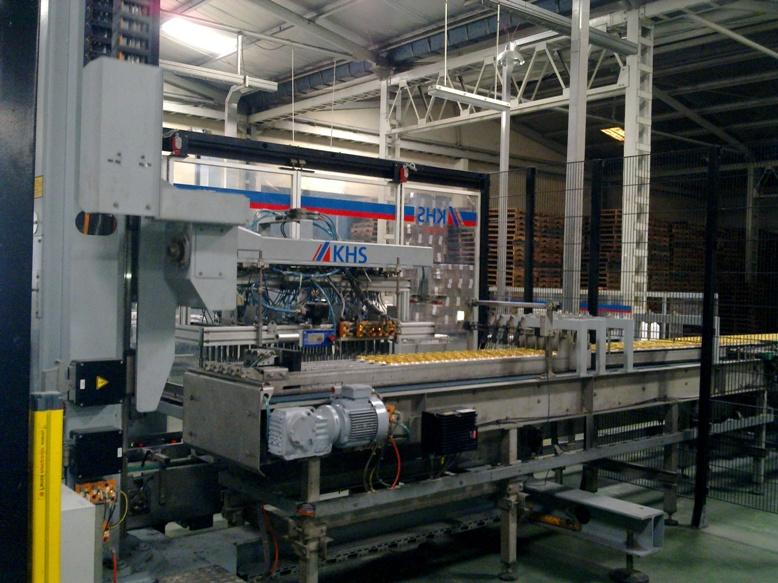 Bảo trì dây chuyền chiết Lon KHS trong nhà máy bia