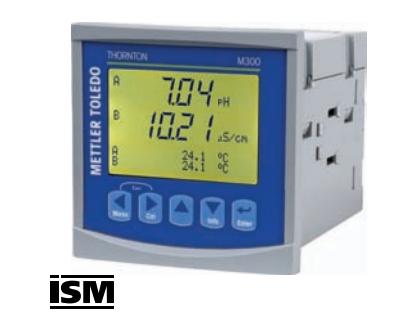 Màn hình tích hợp transmitter đo độ điện dẫn Mettler-Toledo M300 ISM 1 channel/ 2 channel Multi 1/4DI