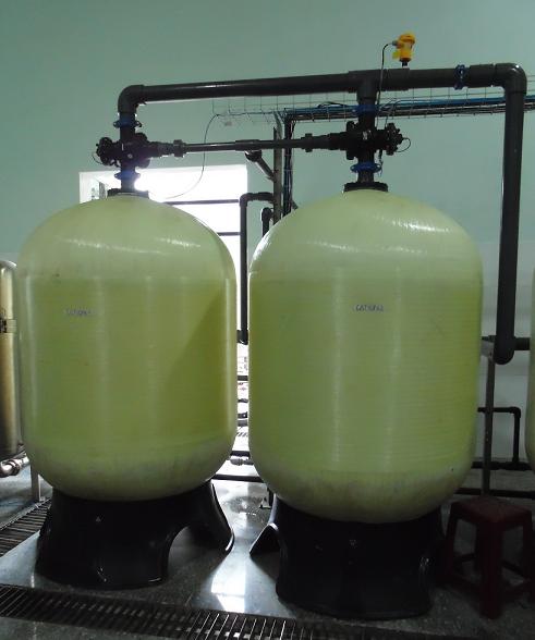 Hệ thống lọc Cation – Anion trong công nghệ lọc ngược từ dưới lên trên trong hệ xử lý nước nấu bia ở nhà máy bia tại Việt Nam